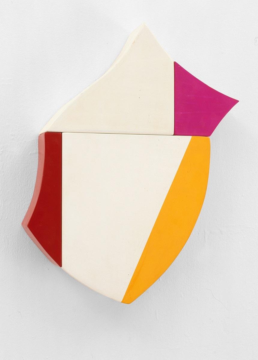 Corona, Acrylfarbe, Holz, 1999