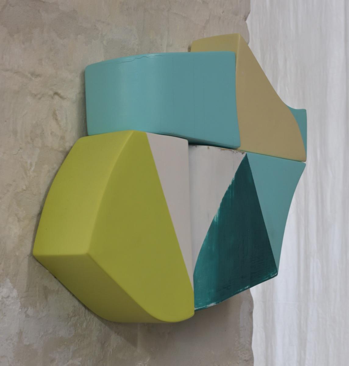 Mobile, Acrylfarbe, Holz