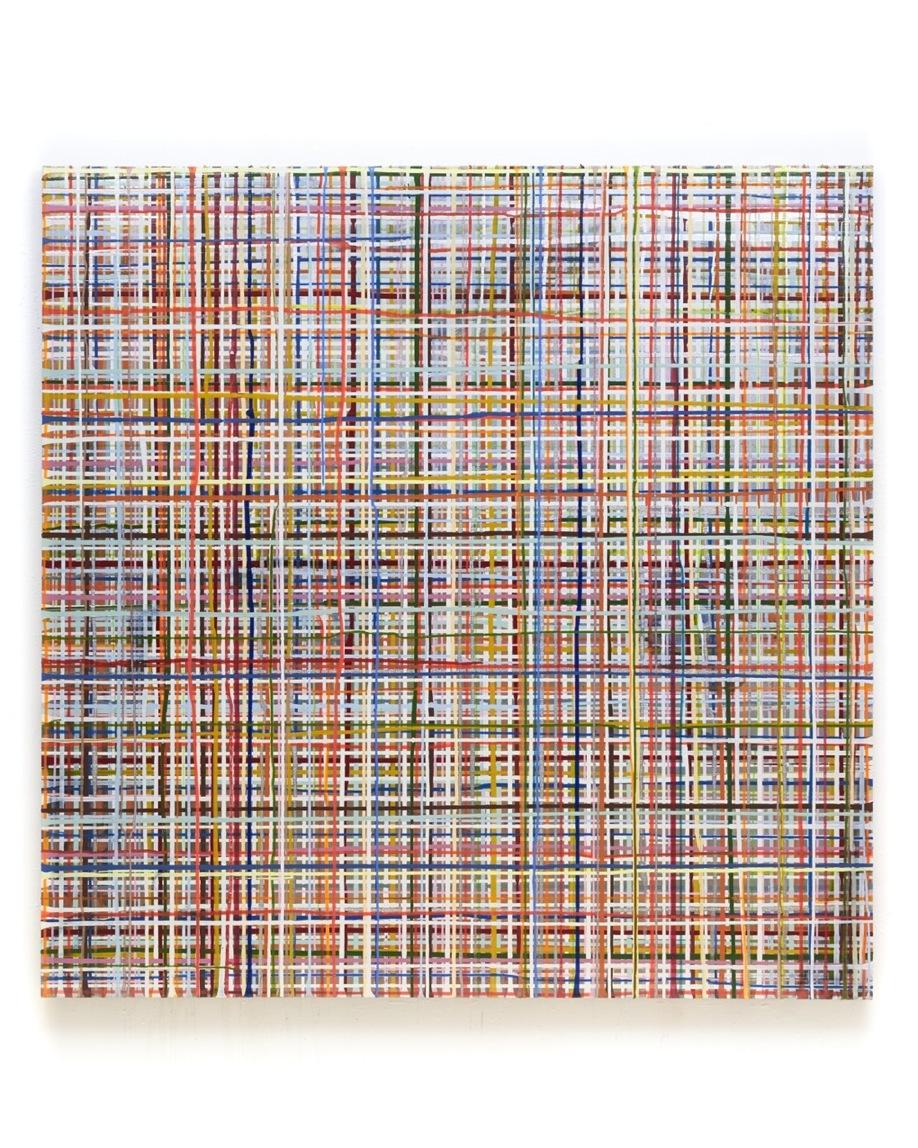 Not Frankfurt, 170 x 170 cm, Acryl auf Leinwand, 2015