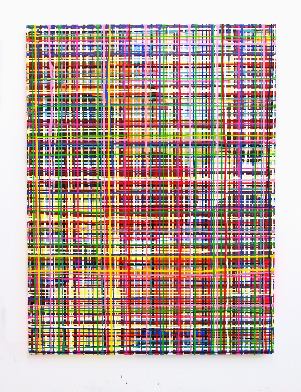 Balance, 200 x 140 cm, Acryl auf Leinwand, 2006