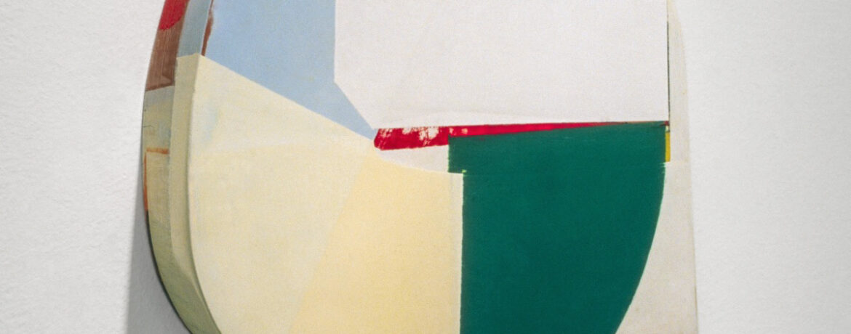 """Vom R III"", Acrylfarbe, Holz, 42x40x11cm, 1997"