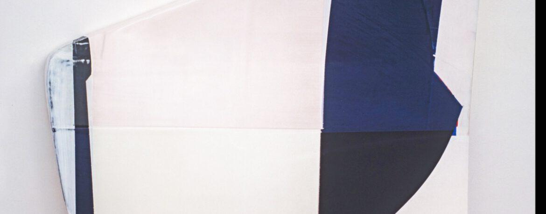 """""""Vom S V"""", 80x74x12cm, Acrylfarbe, Holz, 1997"""