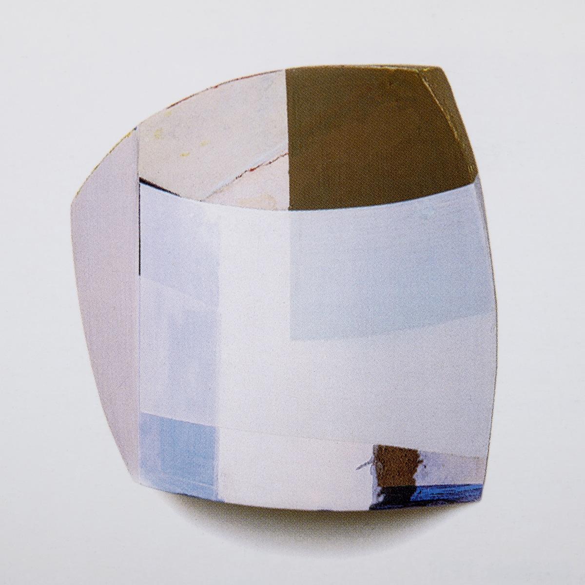 """""""Vom R IV"""", Acrylfarbe, Holz, Pressspan, 33x43x12cm, 1996"""