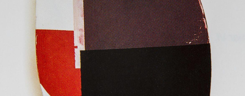 """Vom R II"", Acrylfarbe, Pressspan,Holz, 33x34x12cm, 1997"