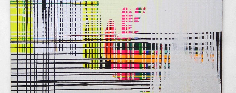 Bruch, 140 x 80 cm, Acryl auf Leinwand