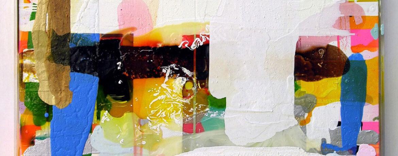 """Vollendet unvollendet"", 93x113 cm, Acryl, LW, Plexi, 2010"