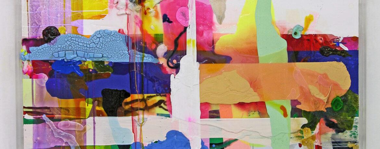 """Philip"", 2010, Acrylfarbe, LW, Plexi"