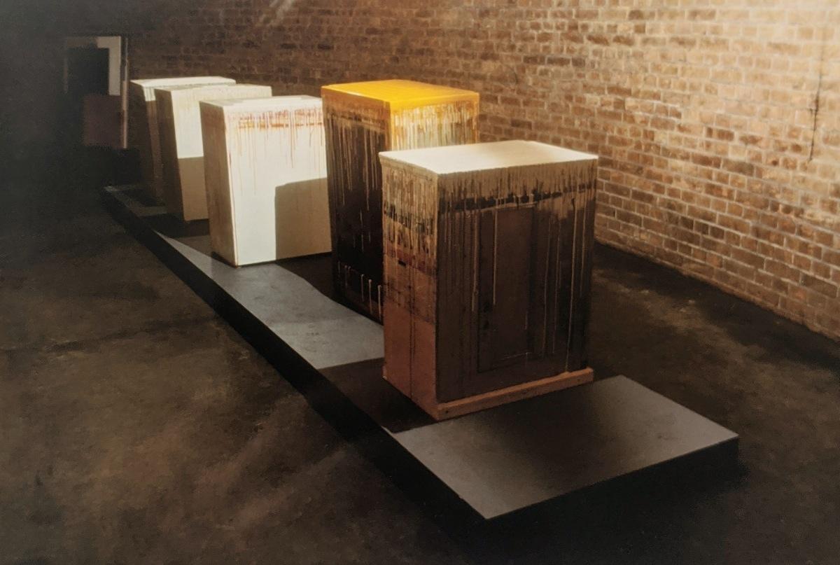 """""""Grund und Schatten"""" - Großer Wasserspeicher, 1996, Berlin"""