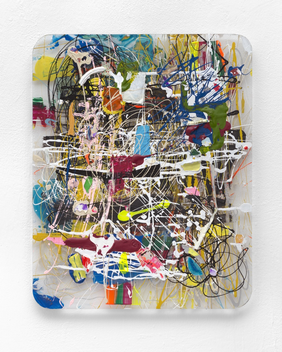 """Musk"", 2014, Acrylfarb, Plexi"