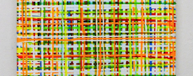"""Orange Juice"", 50x50 cm, Acrylfarbe, LW, 2004"