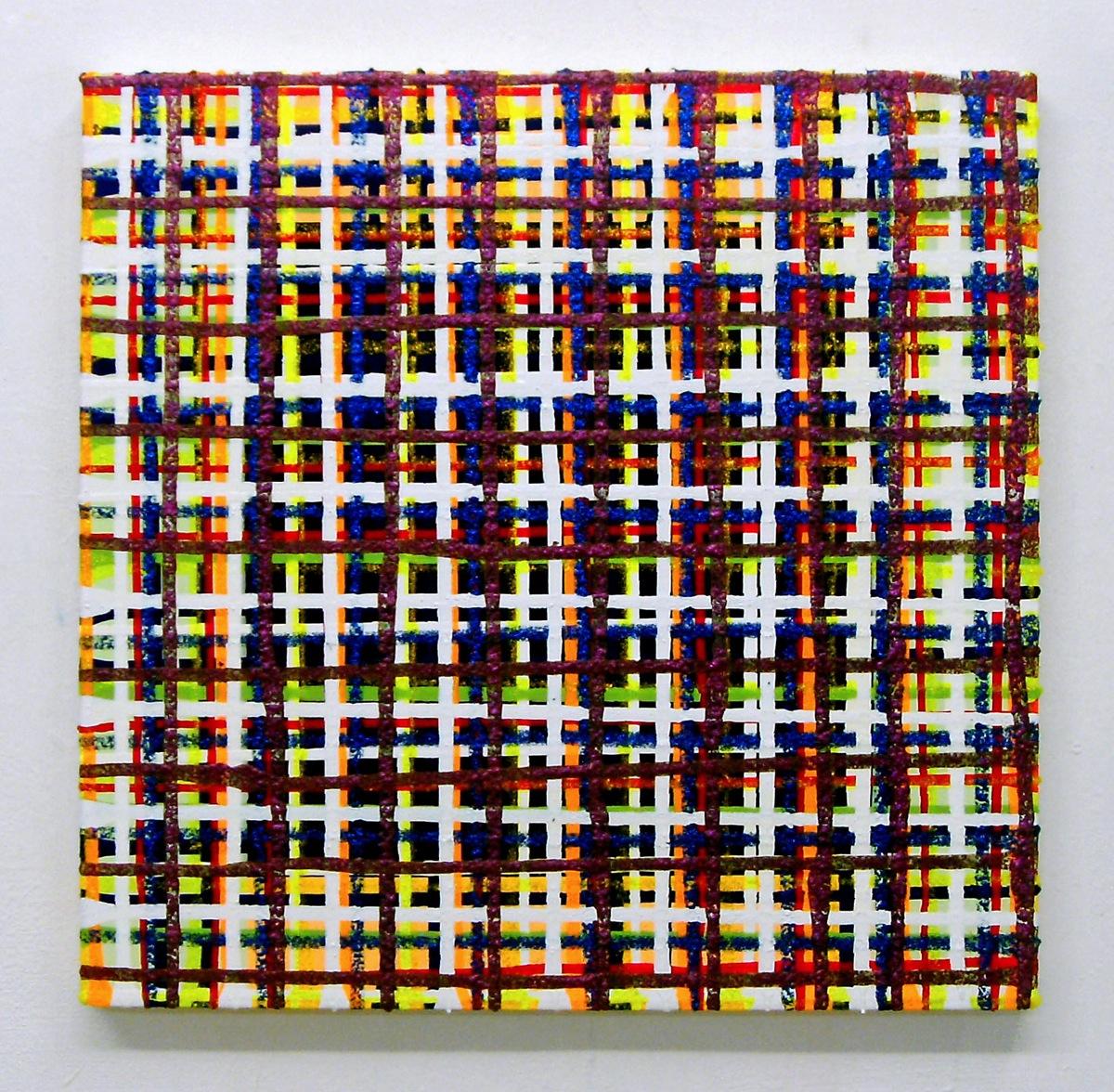 """Wild Berry"", 50x50 cm, Acrylfarbe, Leinwand"