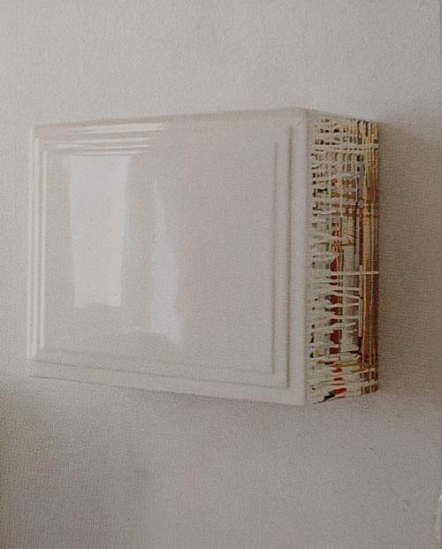 o.T., Acryl,Holz, 40x51x21cm, 1995