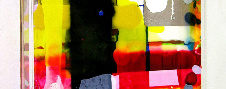 """""""Temperatur"""", 2007, 33x43x5 cm, Plexi, Acryl, LW"""