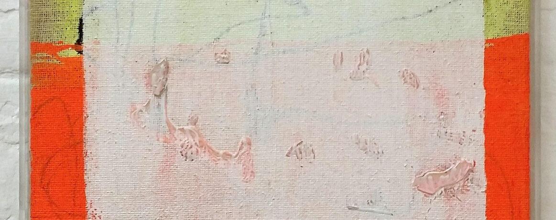 """Einsicht"", 53x53 cm, Acryl, Plexi, 2015"