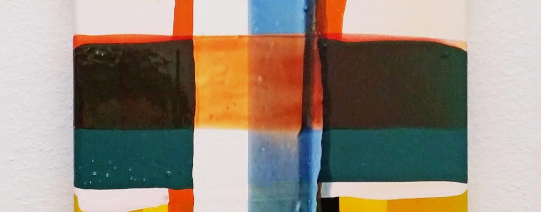 O.T. light, 40x30 cm, Acrylfarbe, LW, 2004