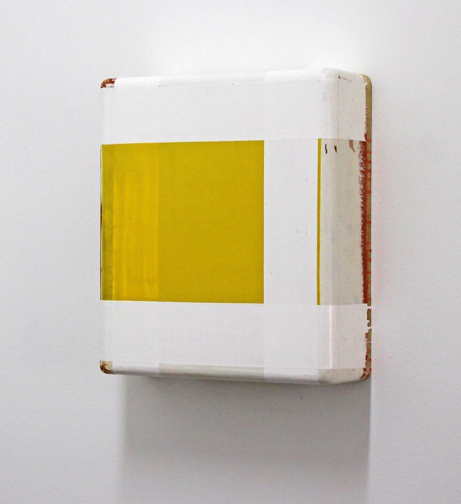 """Box Z"", 40x33x12 cm, Acrylfarbe, Holz, 1992"