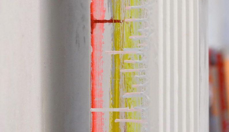 """Hall of Fame"", Acrylfarbe, Pressspan, Holz"