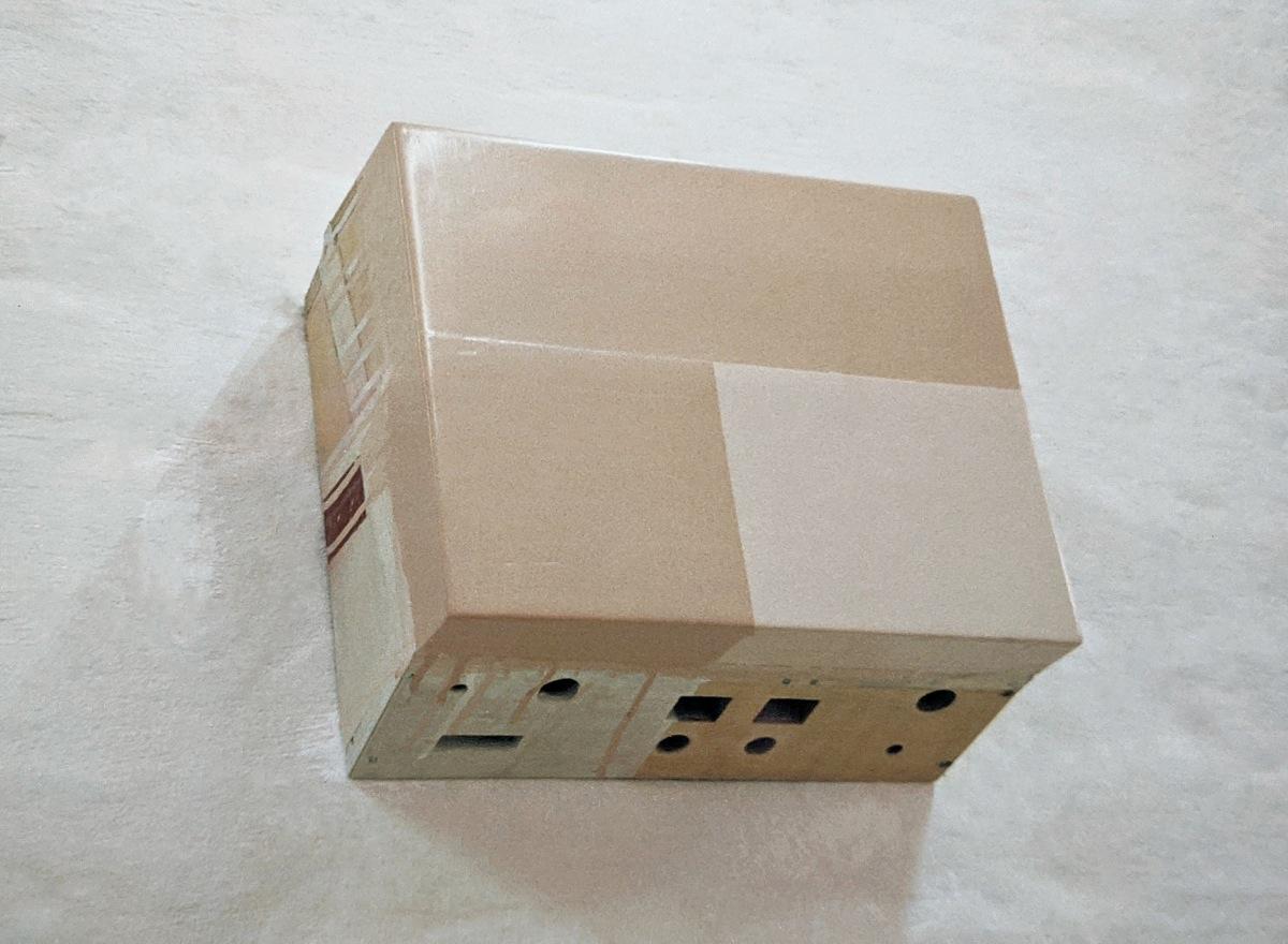 """""""Karamel"""", 1996, 21x30x12 cm, Acrylfarbe, Holz"""