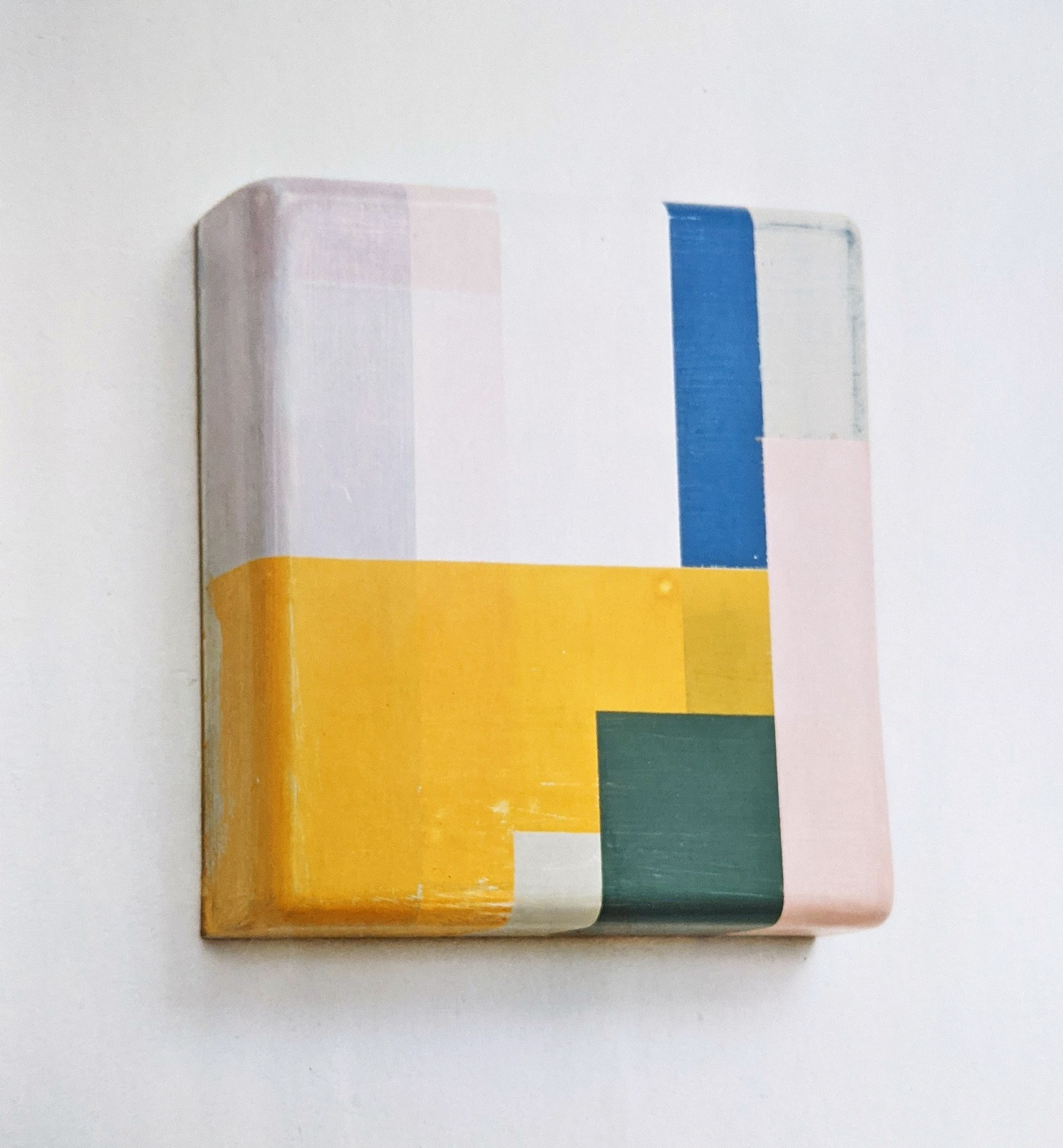 """Box W"", 32x35x12 cm, Acrylfarbe, Holz, 1994"