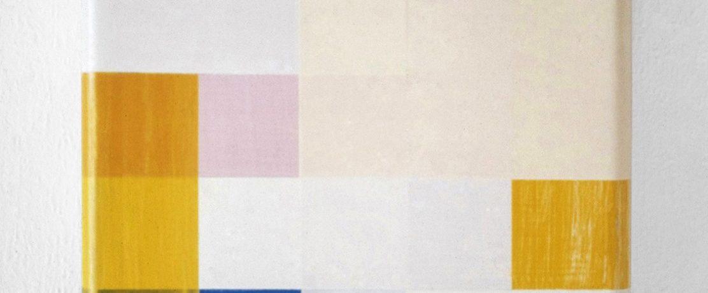 O.T., 40x35x12 cm, Acrylfarbe, Holz, 1993
