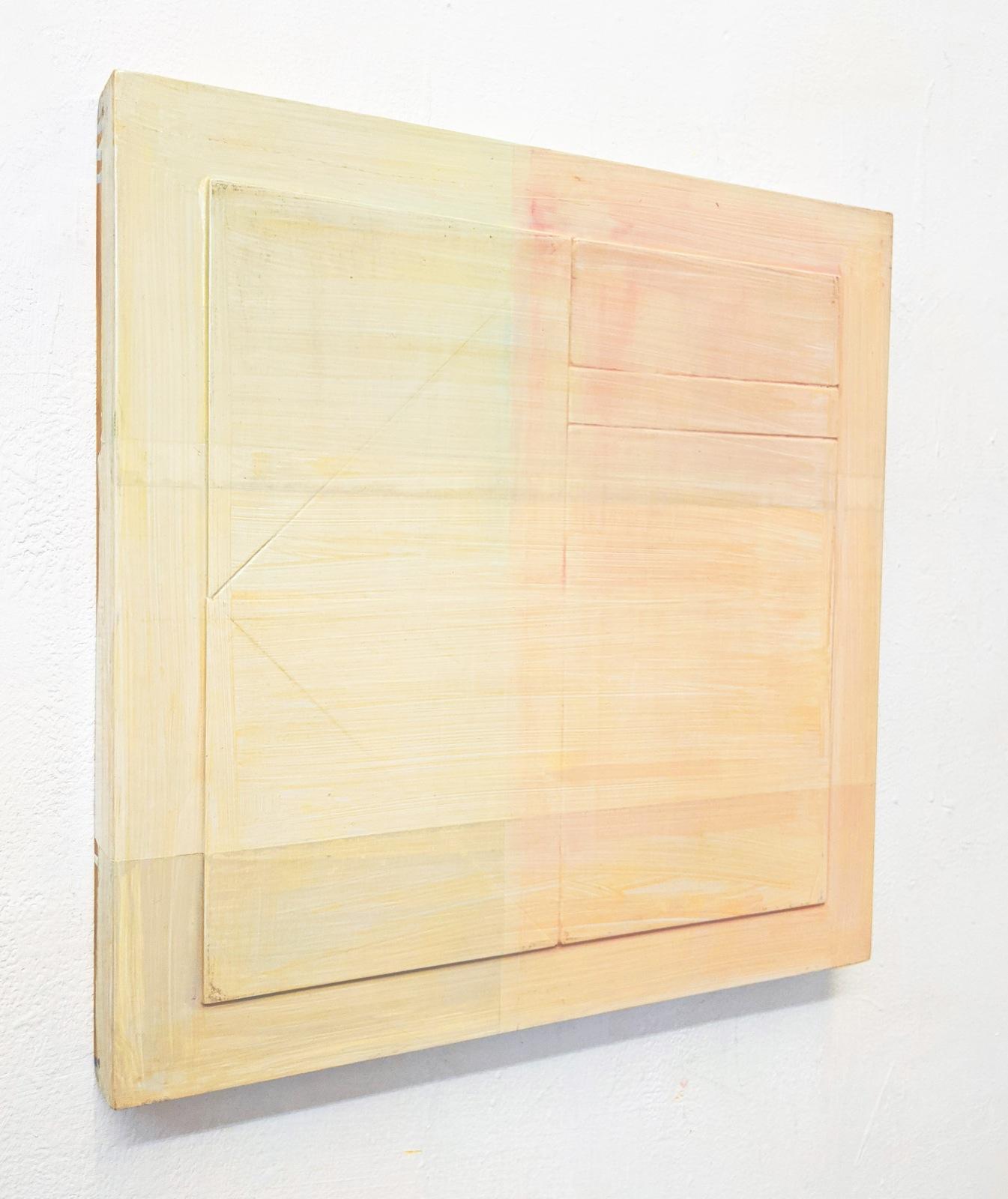 """""""Y"""", 49x49 cm, Acryllack, Holz, 1993"""