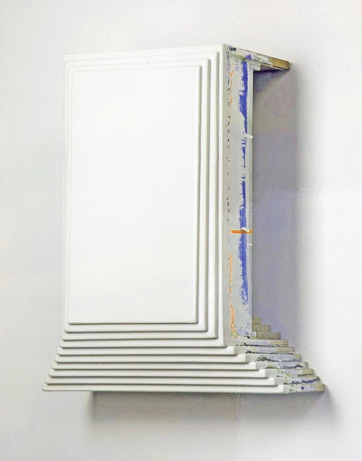 """Hall of Blame"", Acryllack, Holz, 1999"