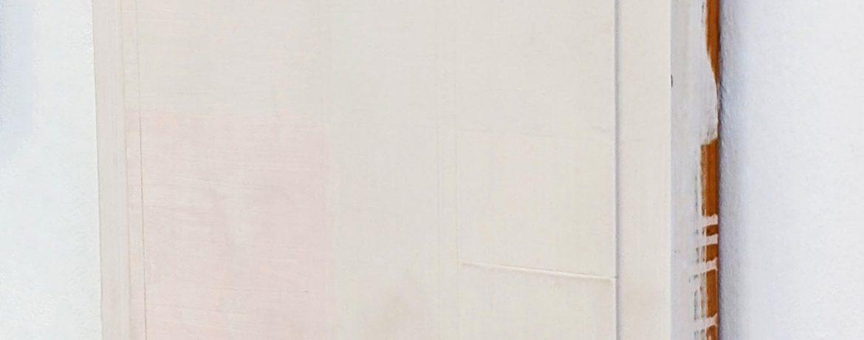 """Z"", 49x49x6 cm, Acryllack, Holz, 1993"
