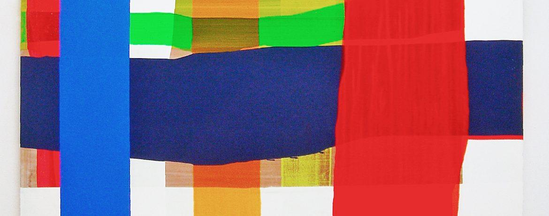 """""""Execution"""", 160x200 cm, Acryl, LW, 2004"""