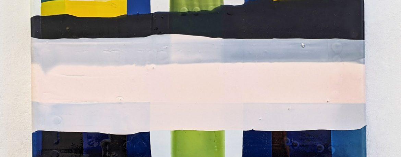 5 C, 40x3 0cm, Acryllack, Leinwand, 2004