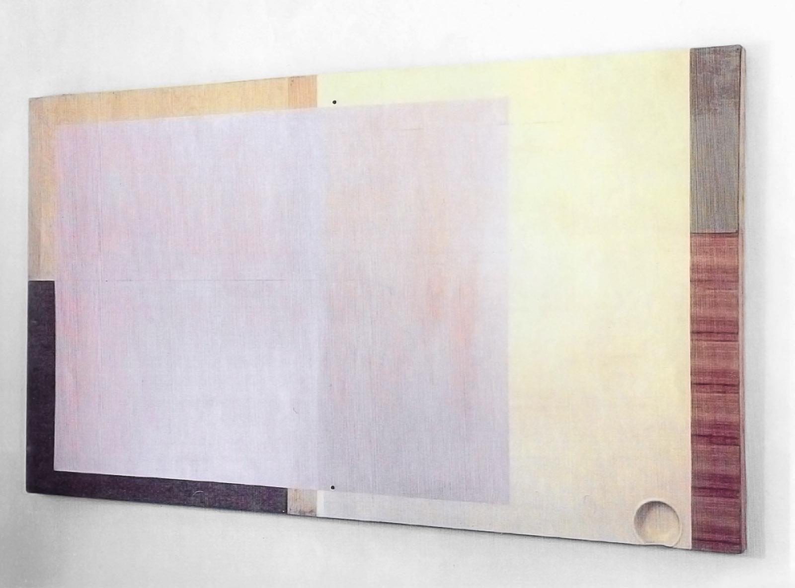 """""""DIN 1"""", 32,265x147x8 cm, Acryllack, Holz, 1992"""