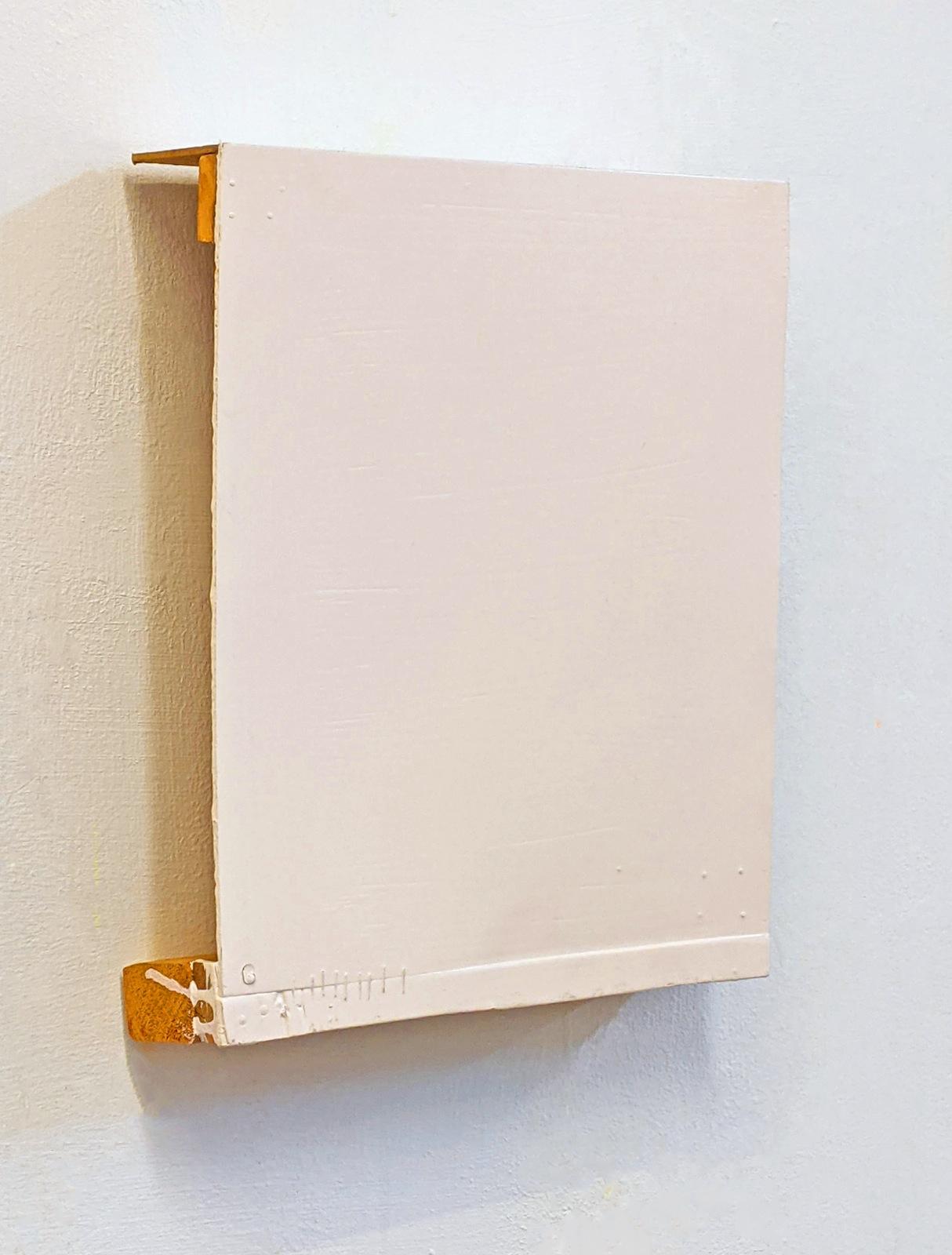 """""""Ichbild"""", 36x23x6 cm, Acrylfarbe, Holz, 1996"""