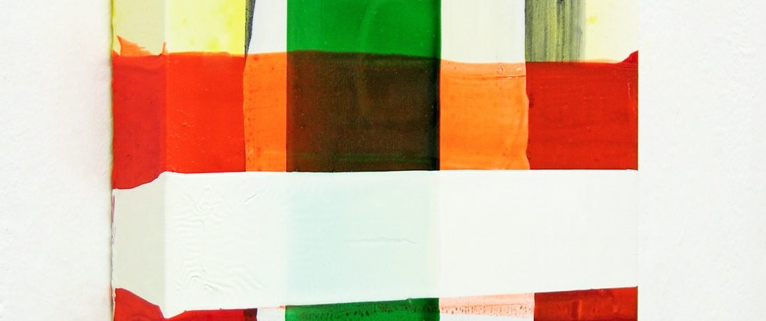 O.T. green, 40x30 cm, Acrylfarbe, Leinwand, 2004
