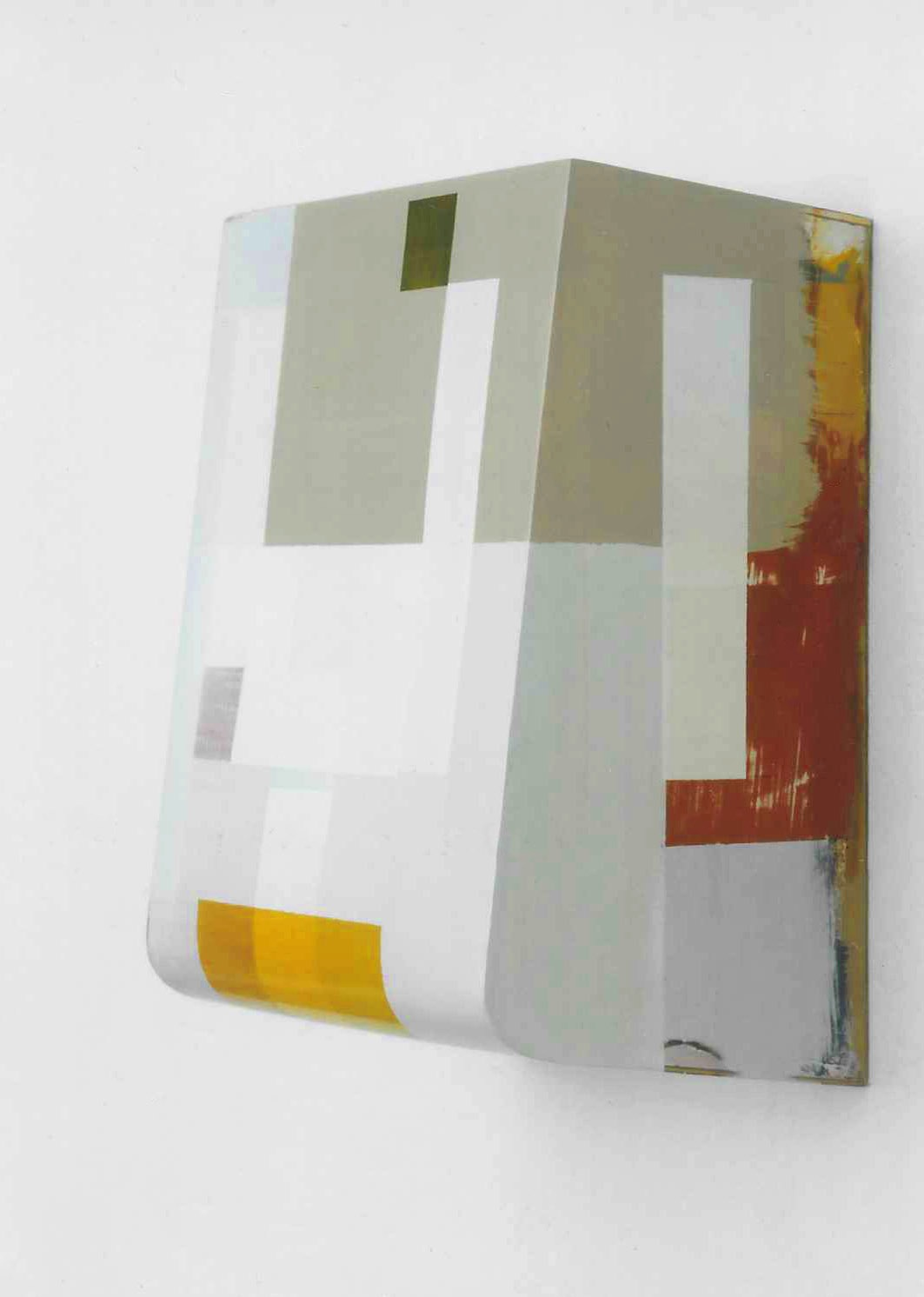 """Kunst ist kostbar"", Acrylfarbe, Holz, 42x33x21 cm, 1994"