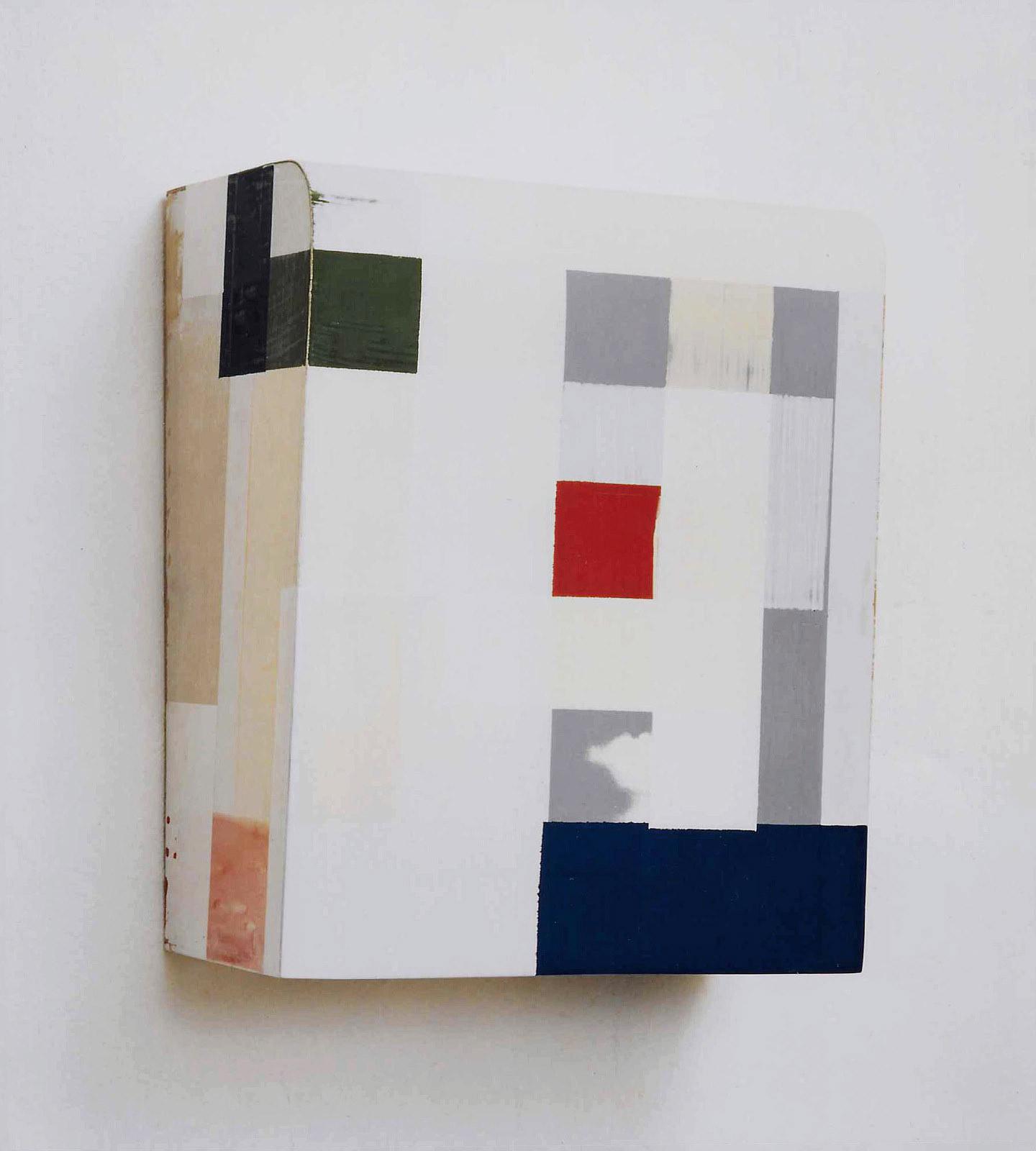 """Kunst ist kostbar II"", 43x33x21 cm, Acrylfarbe, Holz, 1994"