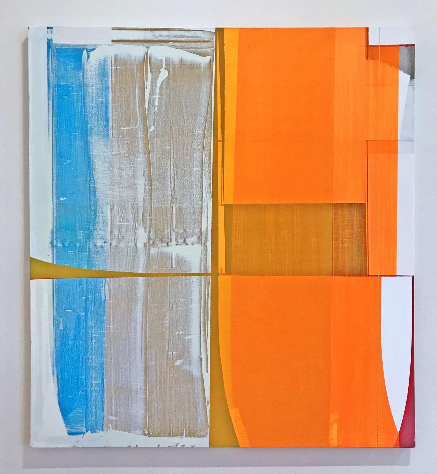 """""""Color Control"""", 120x110 cm, Acrylfarbe, Leinwand, 2000"""