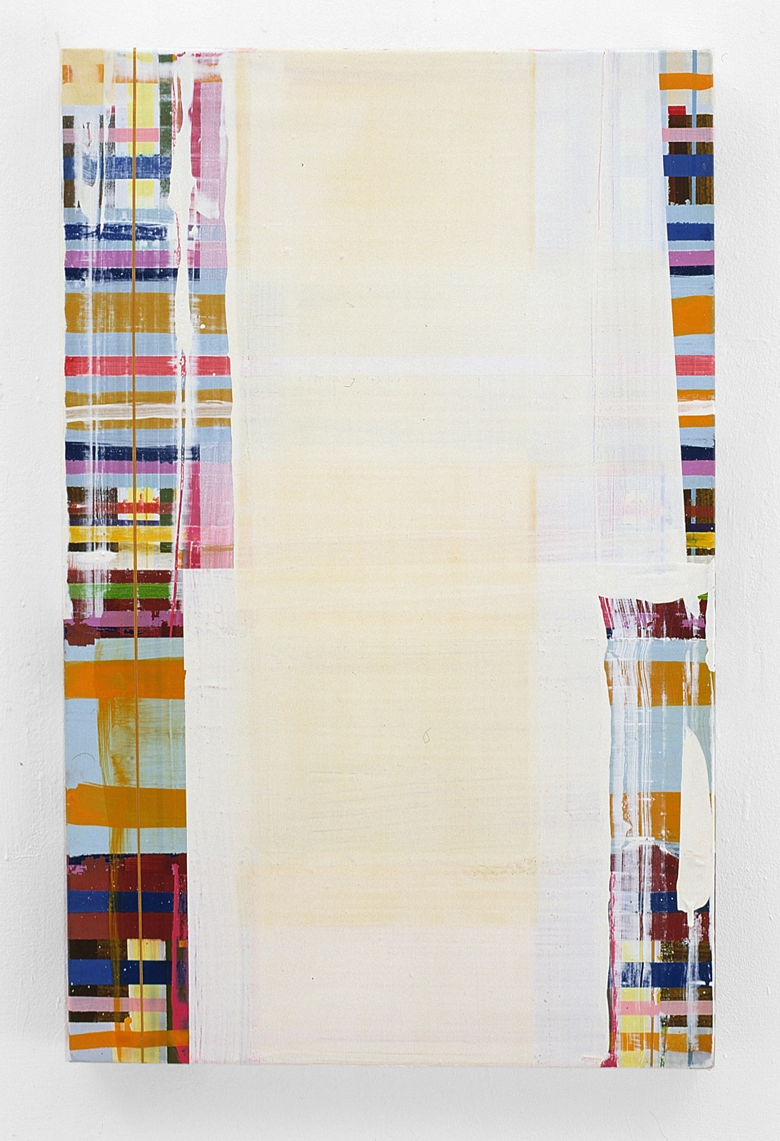 """Menton"", 70x80 cm, Acrylfarbe, Leinwand, 2001"