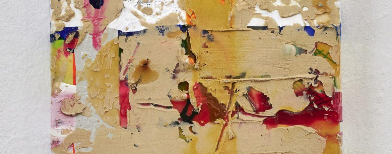 """""""Muro I"""", 30x30 cm, Acrylfarbe, Leinwand, 2017"""
