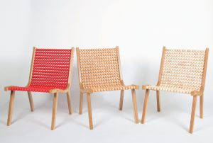 Rolling lounge chairs, Frederic Fessler