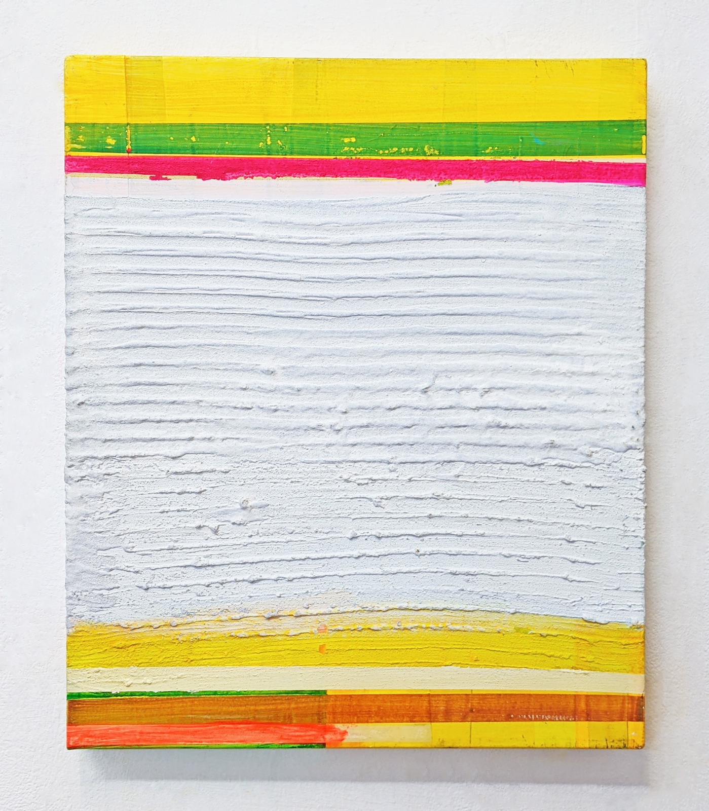 """Weissdecke"", 54x45 cm, Acrylfarbe, Leinwand, 2000"