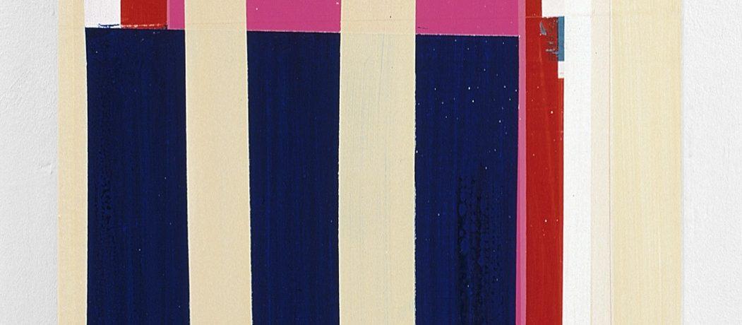 """""""Color behind"""", 50x90 cm, Acrylfarbe, Leinwand, 2001"""