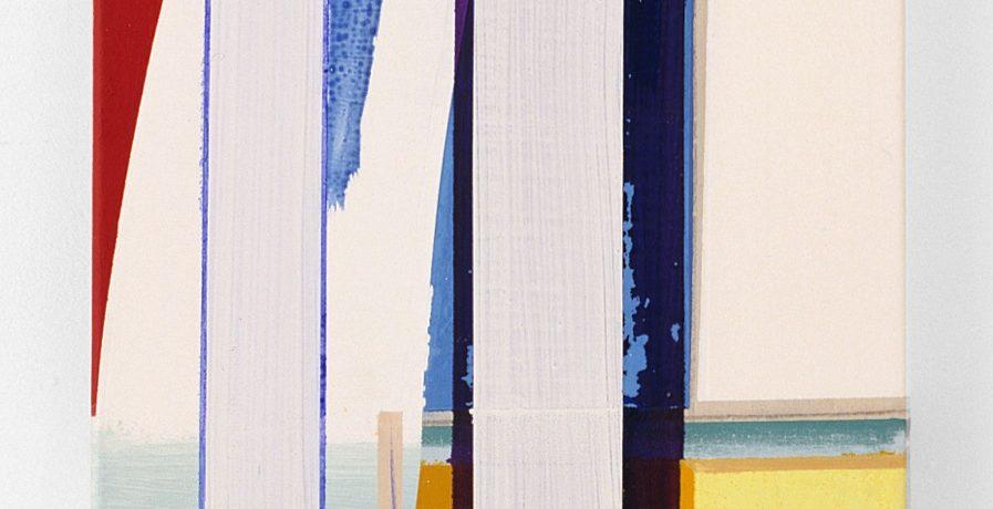 Kein Titel, 80x50 cm, Acrylfarbe, Leinwand, 2001